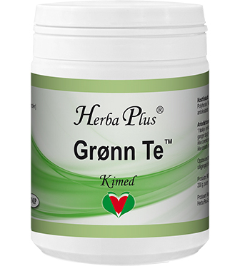 Grønn te - Instant urtete med gode antioksidanter